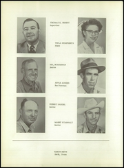 Page 12, 1955 Edition, Springlake High School - Wolverine Yearbook (Earth, TX) online yearbook collection