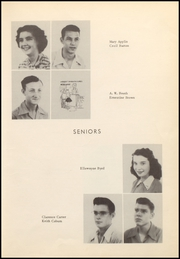 Page 17, 1950 Edition, Cross Plains High School - Bison Yearbook (Cross Plains, TX) online yearbook collection