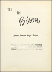 Page 5, 1954 Edition, Cross Plains High School - Bison Yearbook (Cross Plains, TX) online yearbook collection