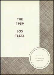 Page 5, 1959 Edition, Overton High School - Los Tejas Yearbook (Overton, TX) online yearbook collection