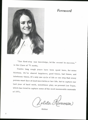Page 8, 1971 Edition, Overton High School - Los Tejas Yearbook (Overton, TX) online yearbook collection