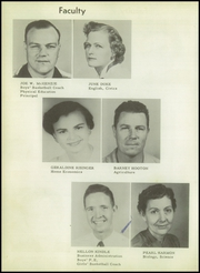 Page 10, 1957 Edition, Alba Golden High School - Panther Yearbook (Alba, TX) online yearbook collection