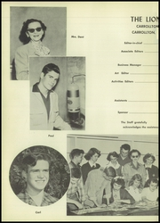 Page 6, 1954 Edition, Carrollton High School - Roar Yearbook (Carrollton, TX) online yearbook collection