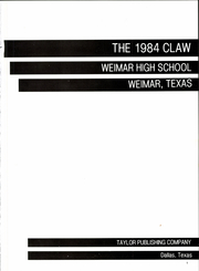Page 5, 1984 Edition, Weimar High School - Claw Yearbook (Weimar, TX) online yearbook collection