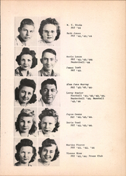 Page 17, 1944 Edition, Wilmer Hutchins High School - Eagle Yearbook (Hutchins, TX) online yearbook collection