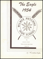 Page 5, 1954 Edition, Wilmer Hutchins High School - Eagle Yearbook (Hutchins, TX) online yearbook collection