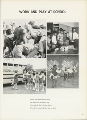 Page 9, 1971 Edition, Prosper High School - Eagle Yearbook (Prosper, TX) online yearbook collection
