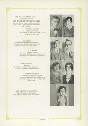Page 17, 1930 Edition, Wheeler High School - Mustang Yearbook (Wheeler, TX) online yearbook collection
