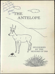 Page 7, 1958 Edition, Whiteface High School - Antelope Yearbook (Whiteface, TX) online yearbook collection