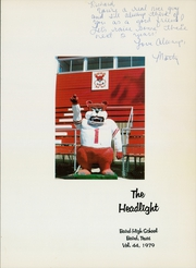 Page 5, 1979 Edition, Baird High School - Headlight Yearbook (Baird, TX) online yearbook collection