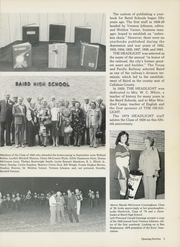 Page 7, 1979 Edition, Baird High School - Headlight Yearbook (Baird, TX) online yearbook collection