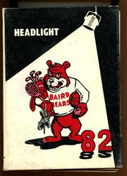 1982 Edition, Baird High School - Headlight Yearbook (Baird, TX)