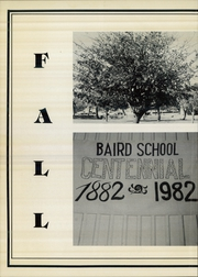 Page 6, 1983 Edition, Baird High School - Headlight Yearbook (Baird, TX) online yearbook collection