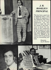 Page 10, 1979 Edition, Highland Park High School - Hornet Yearbook (Amarillo, TX) online yearbook collection