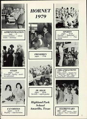 Page 7, 1979 Edition, Highland Park High School - Hornet Yearbook (Amarillo, TX) online yearbook collection