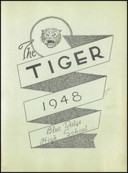 Page 7, 1948 Edition, Blue Ridge High School - Tiger Yearbook (Blue Ridge, TX) online yearbook collection
