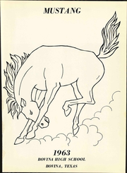 Page 7, 1963 Edition, Bovina High School - Mustang Yearbook (Bovina, TX) online yearbook collection