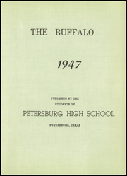 Page 7, 1947 Edition, Petersburg High School - Buffalo Yearbook (Petersburg, TX) online yearbook collection