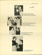 Page 8, 1949 Edition, McLean High School - Cardinal Yearbook (Fort Worth, TX) online yearbook collection