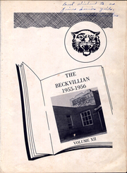 Page 5, 1956 Edition, Beckville High School - Beckvillian Yearbook (Beckville, TX) online yearbook collection