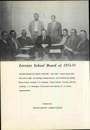 Page 12, 1954 Edition, Lorenzo High School - Hornet Yearbook (Lorenzo, TX) online yearbook collection