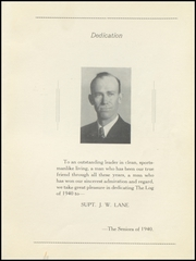 Page 5, 1940 Edition, Poth High School - Log Yearbook (Poth, TX) online yearbook collection