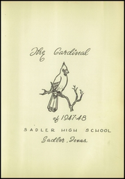 Page 7, 1948 Edition, S and S High School - Cardinal Yearbook (Sadler, TX) online yearbook collection