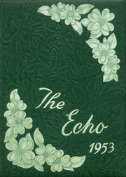 1953 Edition, Kirby High School - Echo Yearbook (Woodville, TX)