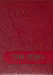 1955 Edition, Kirby High School - Echo Yearbook (Woodville, TX)