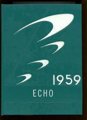 1959 Edition, Kirby High School - Echo Yearbook (Woodville, TX)