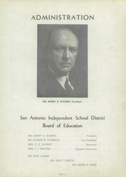 Page 15, 1951 Edition, San Antonio Vocational Technical School - Artisan Yearbook (San Antonio, TX) online yearbook collection