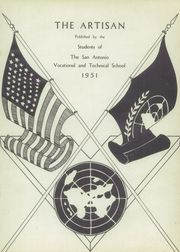 Page 5, 1951 Edition, San Antonio Vocational Technical School - Artisan Yearbook (San Antonio, TX) online yearbook collection