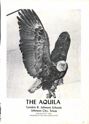 Page 7, 1969 Edition, Lyndon B Johnson High School - Aquila Yearbook (Johnson City, TX) online yearbook collection