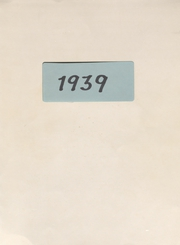 Page 1, 1939 Edition, Perrin High School - Pirate Yearbook (Perrin, TX) online yearbook collection