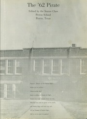Page 5, 1962 Edition, Perrin High School - Pirate Yearbook (Perrin, TX) online yearbook collection