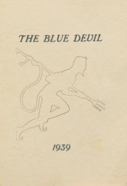 1939 Edition, Celeste High School - Blue Devil Yearbook (Celeste, TX)