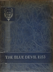 1953 Edition, Celeste High School - Blue Devil Yearbook (Celeste, TX)