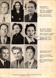 Page 13, 1950 Edition, Roby High School - Tumbleweed Yearbook (Roby, TX) online yearbook collection
