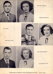 Page 16, 1950 Edition, Roby High School - Tumbleweed Yearbook (Roby, TX) online yearbook collection