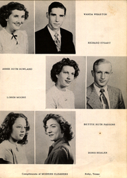 Page 17, 1950 Edition, Roby High School - Tumbleweed Yearbook (Roby, TX) online yearbook collection