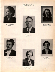 Page 11, 1947 Edition, Santa Anna High School - Mountaineer Yearbook (Santa Anna, TX) online yearbook collection