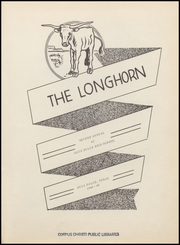 Page 7, 1949 Edition, Agua Dulce High School - Longhorn Yearbook (Agua Dulce, TX) online yearbook collection