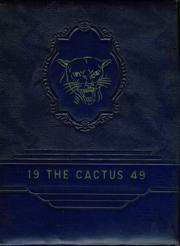 Page 1, 1949 Edition, Abilene Chrisitian High School - Cactus Yearbook (Abilene, TX) online yearbook collection