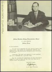 Page 12, 1949 Edition, Abilene Chrisitian High School - Cactus Yearbook (Abilene, TX) online yearbook collection
