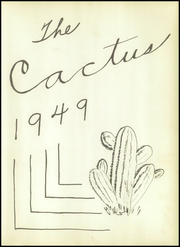 Page 7, 1949 Edition, Abilene Chrisitian High School - Cactus Yearbook (Abilene, TX) online yearbook collection