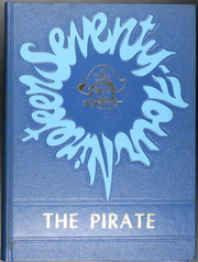 1974 Edition, James Bowie High School - Pirate Yearbook (Simms, TX)