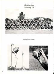 Page 6, 1974 Edition, James Bowie High School - Pirate Yearbook (Simms, TX) online yearbook collection