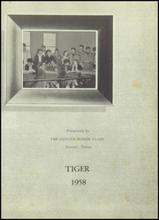 Page 7, 1958 Edition, Gunter High School - Tiger Yearbook (Gunter, TX) online yearbook collection
