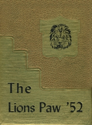 1952 Edition, Granger High School - Lions Paw Yearbook (Granger, TX)
