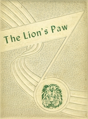 1953 Edition, Granger High School - Lions Paw Yearbook (Granger, TX)